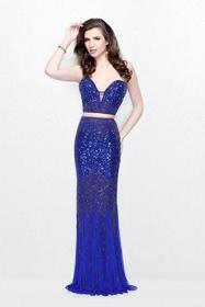 Primavera Couture - Two Piece Sequined Sweetheart