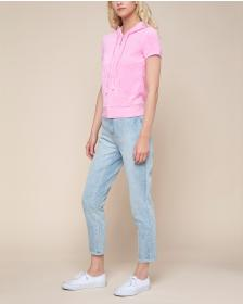 Juicy Couture Microterry Short Sleeve Robertson Ja