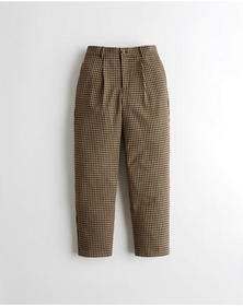 Hollister Ultra High-Rise Mom Pants, LIGHT BROWN C