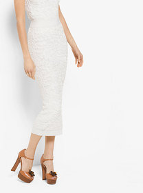 Michael Kors Soutache Stretch Viscose Pencil Skirt