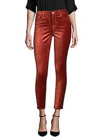 7 For All Mankind Velvet Ankle Skinny Jeans ANTIQU