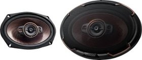 "Kenwood - 6"" x 9"" 5-Way Car Speaker - Black"