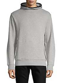 Ovadia & Sons Climalite Cotton Hoodie HEATHER GREY