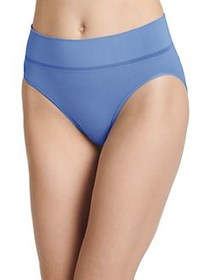 Jockey Natural Beauty Hi-Cut Cotton Blend Bikini P