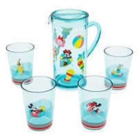 Disney Mickey Mouse and Friends Pitcher Set - Disn