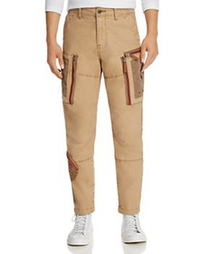 G-STAR RAW - Arris Straight Fit Cargo Jeans in Lio