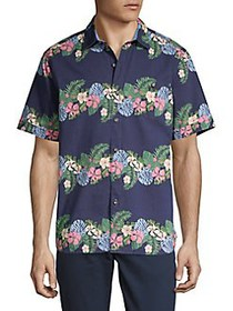 Tommy Bahama Regular-Fit Lei Low Stripe Camp Shirt