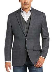 Joseph & Feiss Gold Classic Fit Sport Coat, Gray P