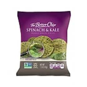 The Better Chip Chips, Spinach and Kale, 1.5 Oz.,