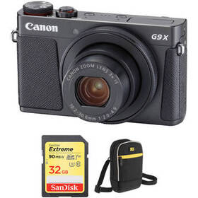 Canon PowerShot G9 X Mark II Digital Camera with F