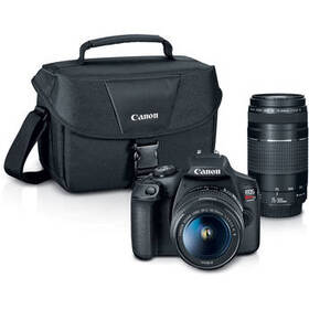Canon EOS Rebel T7 DSLR Camera with 18-55mm and 75
