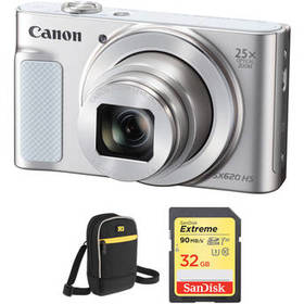 Canon PowerShot SX620 HS Digital Camera with Free