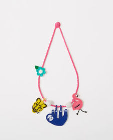 Hanna Andersson Crochet Necklace