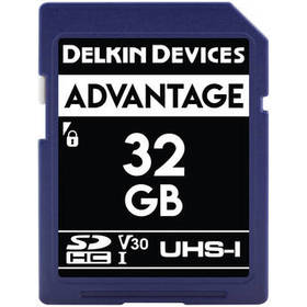 Delkin Devices 32GB Advantage UHS-I SDHC Memory Ca