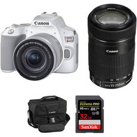 Canon EOS Rebel SL3 DSLR Camera with 18-55mm and 5