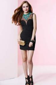 Alyce Paris - Homecoming - 4417 Dress in Black