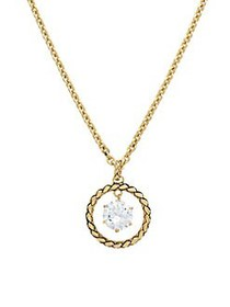 Etienne Aigner CZ Treasures Update Ring-Drop Neckl