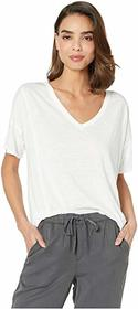 Lucky Brand Seamed Burnout Tee