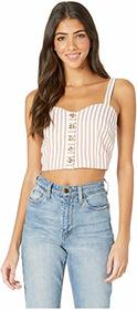 Bishop + Young Button Front Croptop