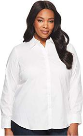 LAUREN Ralph Lauren Plus Size Cotton Poplin Shirt