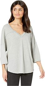 Free People Quarter Back Tee