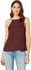 1.STATE High Neck Cami w/ Lace-Up Back Detail