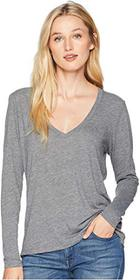 Alternative Long Sleeve Slinky V-Neck