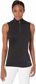 PUMA Golf Sleeveless Mock Polo