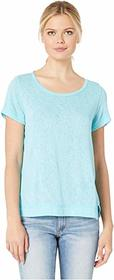 Nally & Millie Short Sleeve Top with Panel Seams
