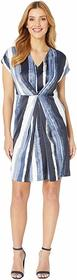 Kenneth Cole New York Origami Pleat Dress