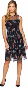 Calvin Klein Embroidered Tulle Dress CD8L24TA