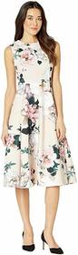 Calvin Klein Floral A-Line Dress with Pockets