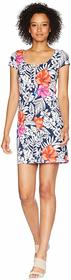 Tommy Bahama Fuego Floral Scoop Neck Dress