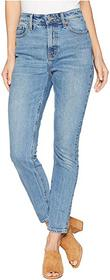 Lucky Brand Bridgette High-Rise Skinny Jeans in Lo