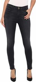 7 For All Mankind The High Waist Ankle Skinny w/ C