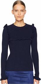 See by Chloe Ribbed Long Sleeve Sweater