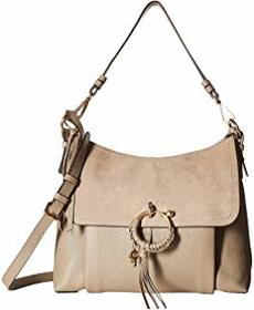 See by Chloe Medium Joan Suede & Leather Shoulder