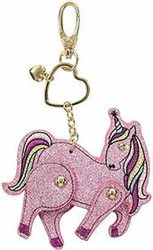 Betsey Johnson Pink Glitter Moveable Unicorn in a
