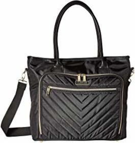 Kenneth Cole Reaction Polyester Twill Chevron Tote