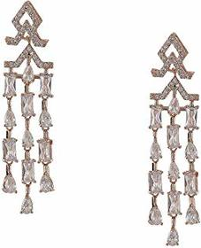 Nina Mini CZ Chandelier Earrings