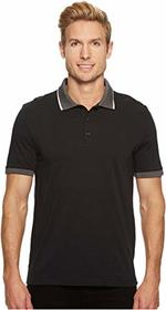 Perry Ellis Tipped Collar Pima Cotton Polo