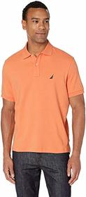 Nautica Short Sleeve Solid Interlock Polo