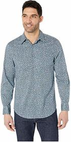 Perry Ellis Abstract Printed Stretch Shirt