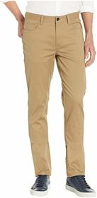 Perry Ellis Slim Fit Stretch Five-Pocket Stain Rep