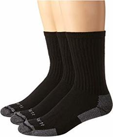 Carhartt Cotton Crew Work Socks 3-Pack