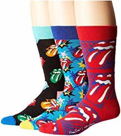 Happy Socks Rolling Stones 3-Pack Sock Box Set