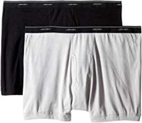 Jockey Big Man Cotton Boxer Brief 2-Pack