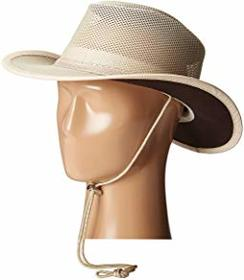 Stetson Mesh Covered Safari with Chin Cord