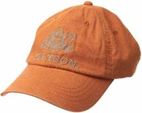 Stetson Linen Blend Unstructured Baseball Cap