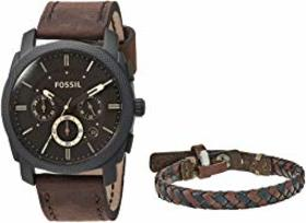 Fossil Machine Watch and Bracelet Box Set - FS5251